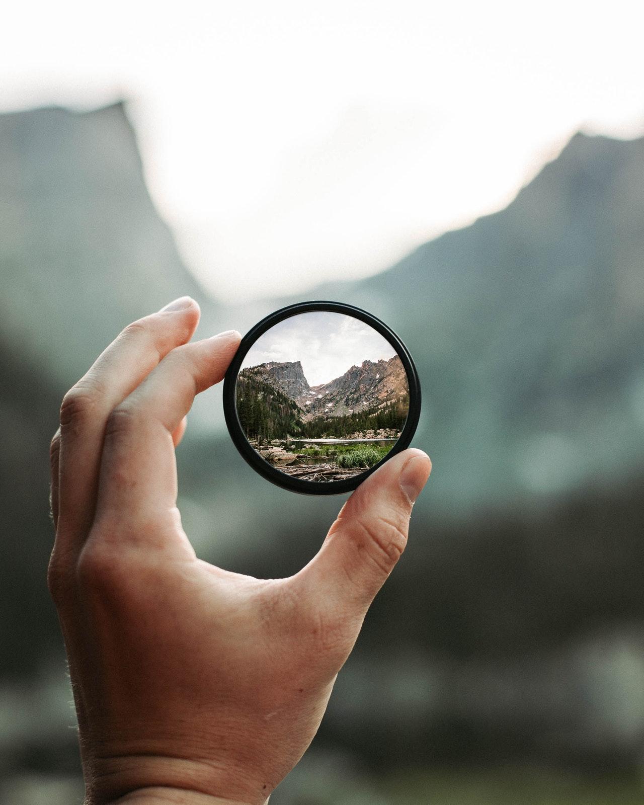 vision espejo redondo